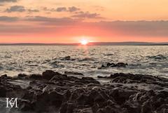 Rest Bay, Porthcawl (kylemarham) Tags: rocks rockpool dark light cymru wales porthcawl bridgend