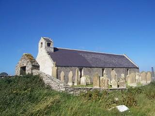 St Mary's Church, Burwick, South Ronaldsay, Orkney Isles, June 2018
