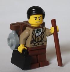 Lieutenant Joshua (spud_the_viking) Tags: botbse2c21 lego water mill moc river stream colonial stone olive custom bluecoats
