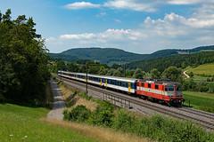 Re 420 108 / Zeihen (Dario Häusermann) Tags: re420 re44 swiss express sbb ir bözberg dario häusermann sommer sonne dispo wald personenverkehr interregio