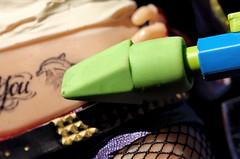 "No more tattoos (Millie Cruz ""On and Off"") Tags: actionfigure plastic toy tatoo tatoos belly green eraser pencil hand macromondays erasers joker harleyquinn comic canoneos5dmarkiii ef100mmf28lmacroisusm suicidesquad movie"