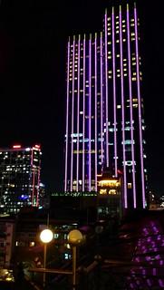 Rex Hotel - Blick von der Rooftop Terrasse.