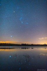 *** (Piotr Potepa) Tags: orion sirius stars night sky nightscape nightscapes lake poland