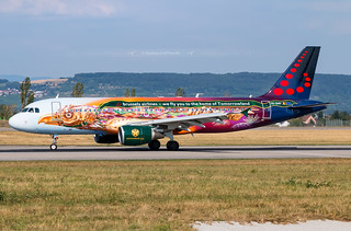 OO-SNF Airbus A320 Brussels Airlines