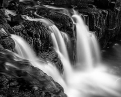 img157 (Adam Clark Photography) Tags: blackandwhite black white photography photo picture river water tones bronica gs1 bigstopper wales natue ilford delta film shootfilm sharp analog analogue waterfall rock forest