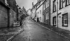 street on the hill (johnny_9956) Tags: street buildings fife pittenweem scotland monochrome blackandwhite urban houses hill