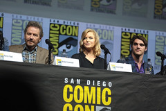Bryan Cranston, Anna Gunn & RJ Mitte (Gage Skidmore) Tags: bryan cranston anna gunn rj mitte breaking bad 10th anniversary reunion amc san diego comic con international 2018 convention center california