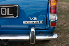 Rover P6 detail. (Chris Firth of Wakey.) Tags: roverp6 rover walton