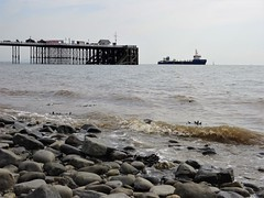 UKD Orca off Penarth (Dun.can) Tags: boat ship ukdorca dredger beach pebbles penarth wales pier