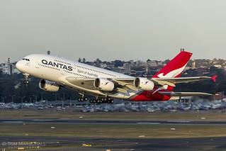 Qantas 1 Away