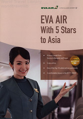 Eva Air With 5 Stars to Asia; 2016_1 (World Travel Library - The Collection) Tags: evaair 2016 stewardess crew flightattendant uniform airlinesbrochurefrontcover frontcover brochure aviation travel library center worldtravellib papers prospekt catalogue katalog fluggesellschaften compagnie aérienne compagnia aerea légitársaság شركةطيران 航空会社 flug air airtransport transport holidays tourism trip vacation photos photo photography pictures images collectibles collectors collection sammlung recueil collezione assortimento colección ads online gallery galeria documents dokument broschyr esite catálogo folheto folleto брошюра broşür