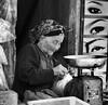 Hanoi Old Town Market (SabineSahm) Tags: em1 omd olympus hanoi women schwarzundweiss blackandwhite market oldtown