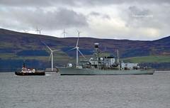 HMS Montrose (Zak355) Tags: jointwarrior navy exercise scotland scottish frigate ship boat vessel warship riverclyde hmsmontrose royalnavy f236 sdoronsay