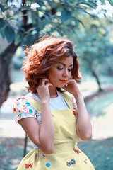 Cinta Sore (a.k.a Rujakandroid.) Tags: portrait fashion asian girl color people