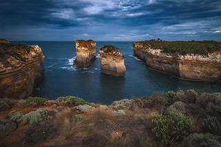 Rock formations...