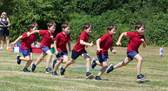 Speed at Sports Day (jo92photos) Tags: sportsday school boy sprinting running timelapse multipleshots speed fast determination