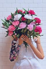 Peonies (kinmegami) Tags: peonies miniatureflowers 16 barbiemadetomove