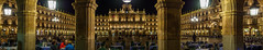 Plaza Mayor, Salamanca (ozipital) Tags: europe plazamayor salamanca spain night panorama streetphotography