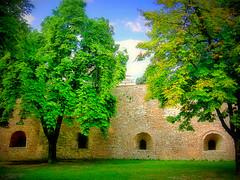 Kalemegdan, dungeons (Superoperater hero) Tags: beograd dungeons fortress green kalemegdan photos spring tree tvrdjava