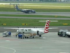 De Havilland Canada DHC-8-402Q Dash 8, SP-EQB, Polish Airlines LOT (transport131) Tags: samolot airplane waw bombardier de havilland canada dhc8402q speqb polish airlines pll lot