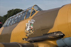 CCF T-6H Harvard IVM - 02 (NickJ 1972) Tags: raf cosford museum airshow 2018 100 raf100 aviation ccf northamerican t6 harvard iv texan gbjst aj841 wackywabbit