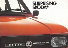 Skoda in 1984 (Hugo-90) Tags: skoda 105 120 estelle car auto automobile ads advertising brochure eighties 80s 1980s 1984