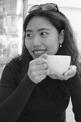 Let's start day with...coffee (Khromalux) Tags: life still bw blackandwhite portrait