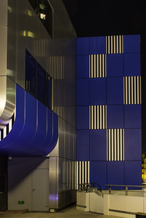 moderne et bleu