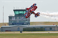 0257 Richard Goodwin (photozone72) Tags: aviation airshows aircraft airshow yeovilton yeoviltonairday canon canon100400f4556lii canon7dmk2 7dmk2 richardgoodwin pittsspecial biplane