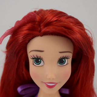 2018 Singing Ariel Doll - Disney Store Purchase - Deboxed - Standing - Closeup Front View #2