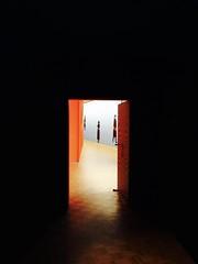 """The Dark Side of Dick Bruna"", Kunsthal Rotterdam (Miranda Ruiter) Tags: detectives thriller crime mural peephole door darksideofdickbruna dickbruna bookcovers graphicdesign design art exhibition kunsthal rotterdam"