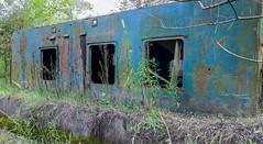 Chudy Wojtek (piotr_szymanek) Tags: chudywojtek barge retired grass 1k 20f old rust abandoned 50f 5k 10k