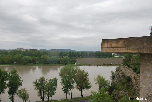 Річка Рона, Авіньйон, Прованс, Франція InterNetri.Net France 1454