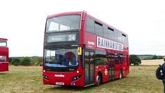 Should Happen. Never Will. (londonbusexplorer) Tags: metroline travel volvo b5lh mcv evoseti vmh2465 lk18amo 24 pimlico hampstead heath essex bus rally 2018 tfl london buses