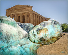 Temple Dreaming (Maclobster) Tags: valley temples agrigento sicily italy valle dei templi