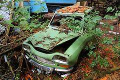 Citroen Ami 8 berline 3 - T (08) (Raphael Drake) Tags: epave voiture wreck car abandonne abandoned decay decayed rurex barn citroen ami 8 ami8