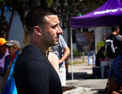 Male Profile (LarryJay99 ) Tags: 2018 lakeworthstreetpaintingfestibal urban festivals crowds florida people men male man guy guys dude dudes 60d street stteetportrait hotguys