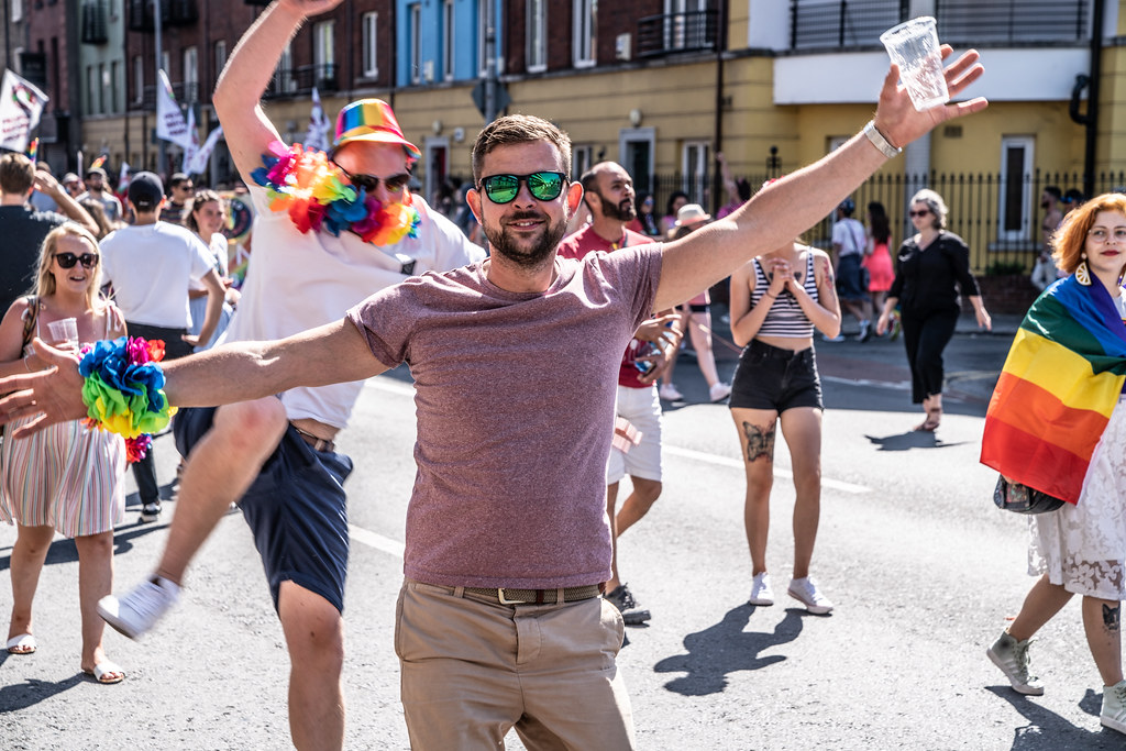 ABOUT SIXTY THOUSAND TOOK PART IN THE DUBLIN LGBTI+ PARADE TODAY[ SATURDAY 30 JUNE 2018] X-100006