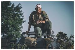 Le Bocage 1944 (VI) (Frann García) Tags: guerra war wwii bocage normandia normandie normandy waffen waffenss ss soldado soldier soldat german germany france deutsche deutschland 1944 june1944 recreaciónhistórica historia history herido injured eos5dmarkiv ef100lmacro canon