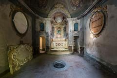 Abandoned Villa Crypta, Italy