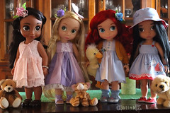 My Latest Dolly Folly (BblinkK) Tags: disney animator doll pocahontas ariel rapunzel elena avalor