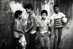I'll Bulldoze You Man ! (N A Y E E M) Tags: boys kids neighbours fight ramadan afternoon street rabiarahmanlane chittagong bangladesh windshield friday
