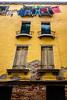 Laundry day (The Burgys) Tags: italy italia venice venezia sony ricksteves rx100m5 rx100mark5 laundry yellow clothes clothesline shutters