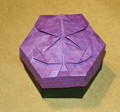 Lilly (Lirio) tessellation (mganans) Tags: origami tessellation box