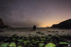 O Percebe - El Ferrol del Caudillo (albertoleiras) Tags: opercebe ferrol galicia rocas landscape paisaje nocturna longexposure largaexposicion stars sedas canon1740f4l canon6d