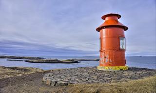 Súgandisey Island Lighthouse