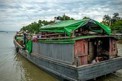 Journey into the Quilted Sky (shapeshift) Tags: rural burma myanmar river kaladan boattrip harbor boat davidpham davidphamsf shapeshift shapeshiftnet raw rawformat rawphoto rawphotography fz200 sittwe rakhine myanmarburma mm