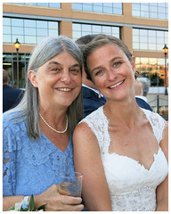 first portrait with Mrs. Smith (karma (Karen)) Tags: baltimore maryland fellspoint wedding reception daughter family topf25