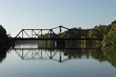 UPRR Trinity River (Matt D. Allen) Tags: steel bridge trinity river riverside texas parker truss