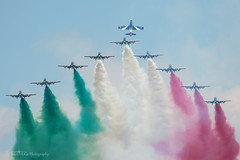 Frecce Tricolori (mattmckie98) Tags: aircraft aviation airforce airshow italian italy display team smoke military riat nikon jet trainer